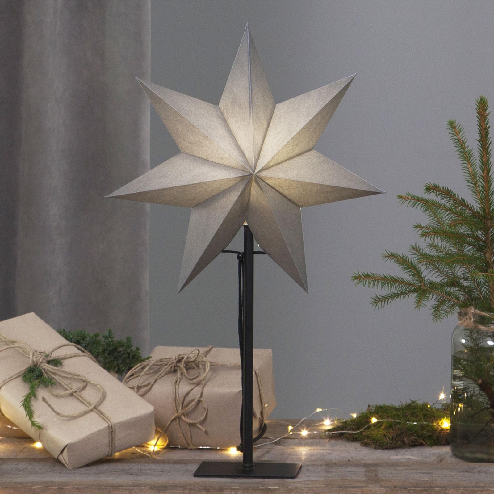 Étoile sur pied Ozen, hauteur 55cm