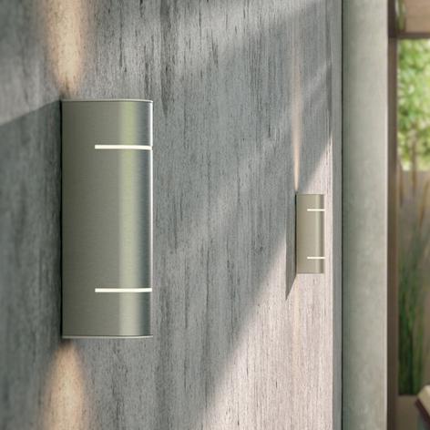 Philips Sunset LED-Außenwandleuchte aus Edelstahl