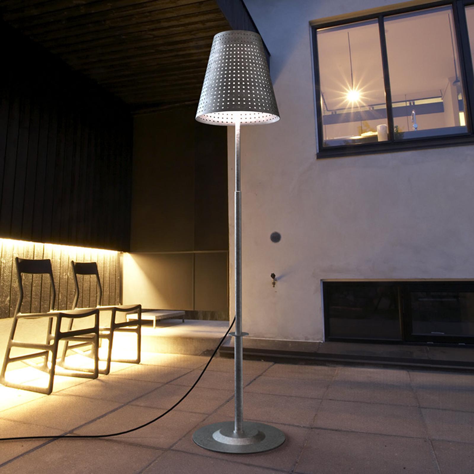 Voet m. bodemplaat v.staande lamp Fuse v. outdoor