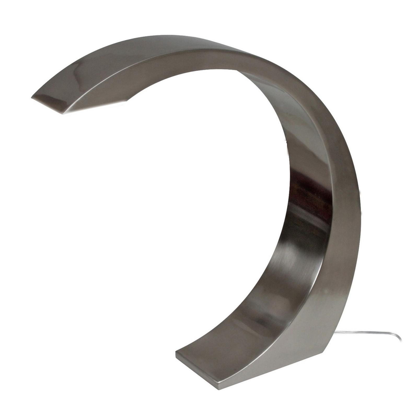 NAMI - nowoczesna lampa stołowa LED, 33 cm, szara