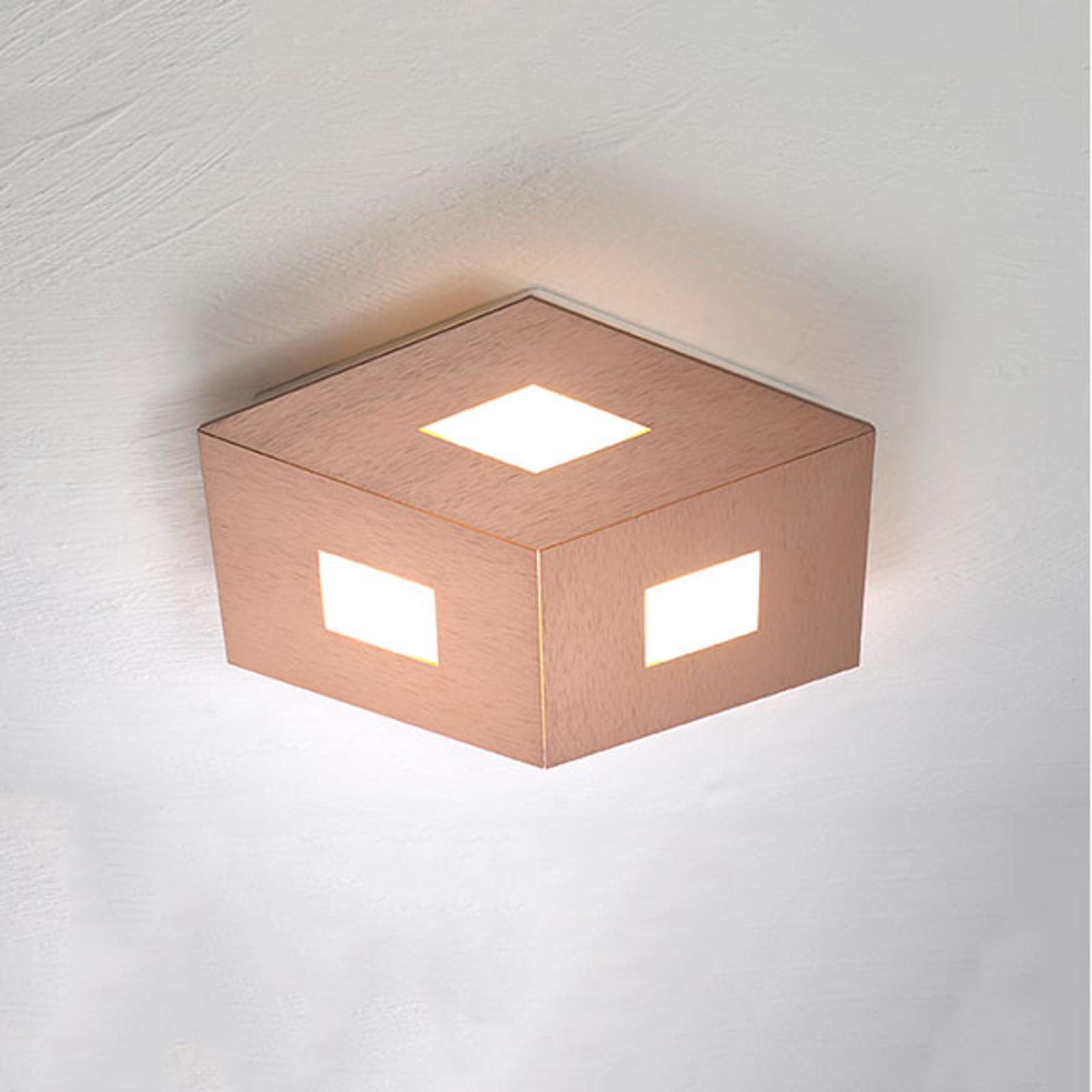 Bopp box Comfort LED plafondlamp roségoud 35cm