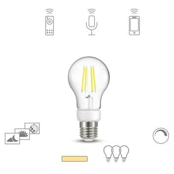 Müller Licht tint white LED žárovka E27 5W čirá