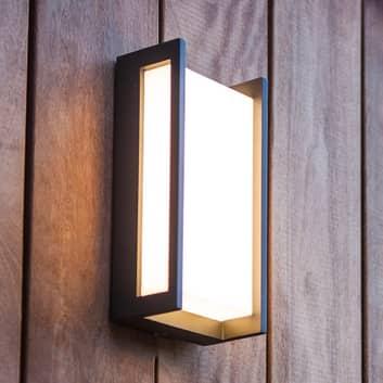 Kinkiet zewnętrzny LED Qubo, RGBW inteligentny
