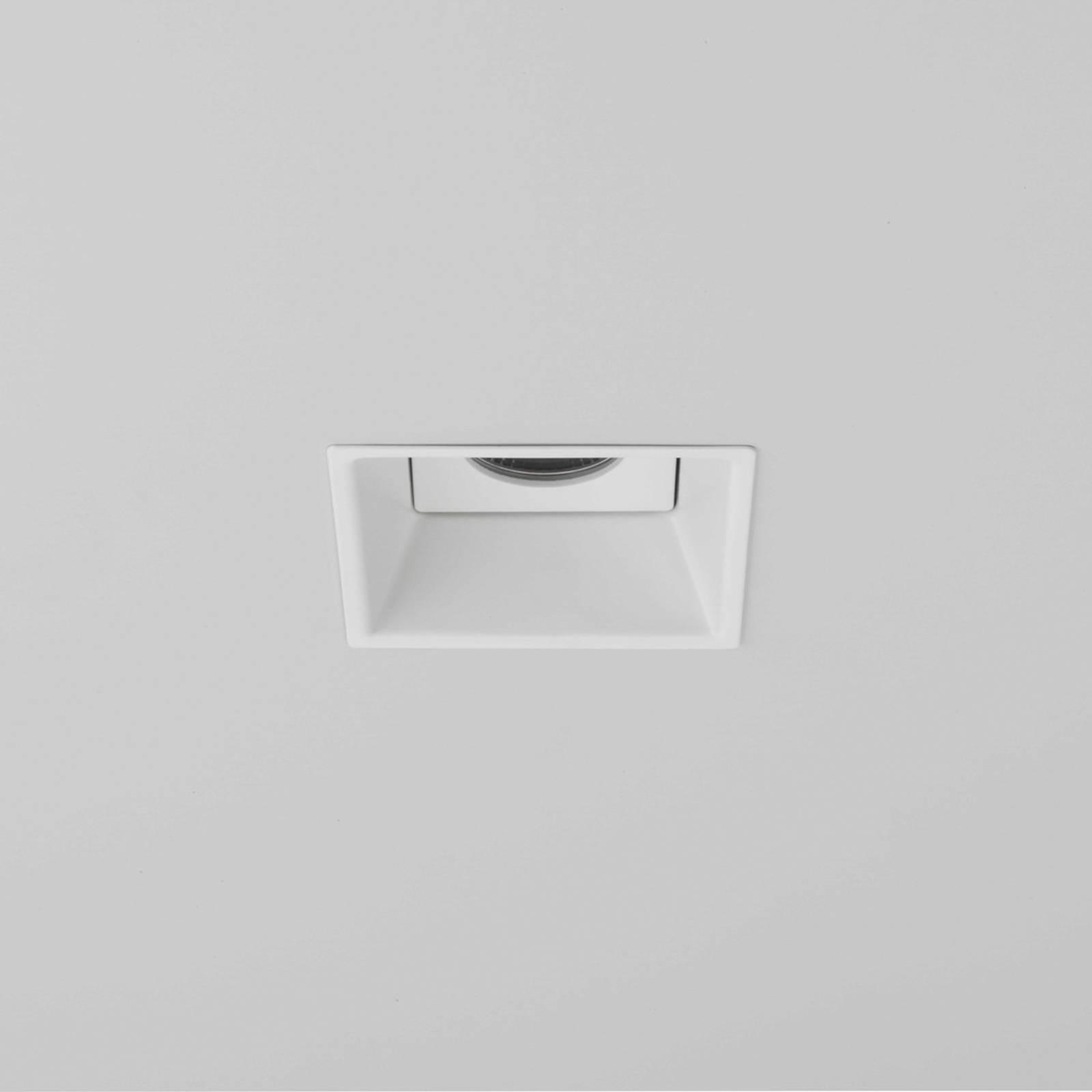 Astro Minima Square spot encastré LED, IP65, blanc