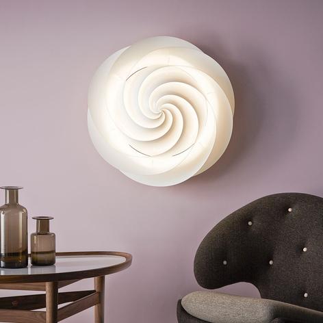 LE KLINT Swirl - vegglampe med LED, hvit