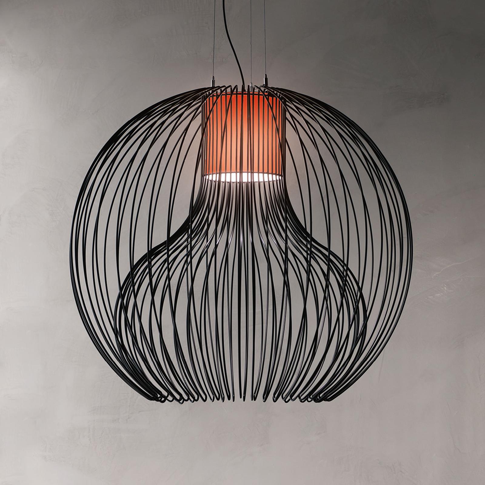 Modo Luce Icaro Ball hængelampe Ø 50 cm, sort