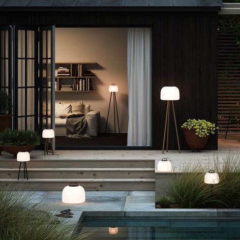 LED-bordlampe Kettle tripod