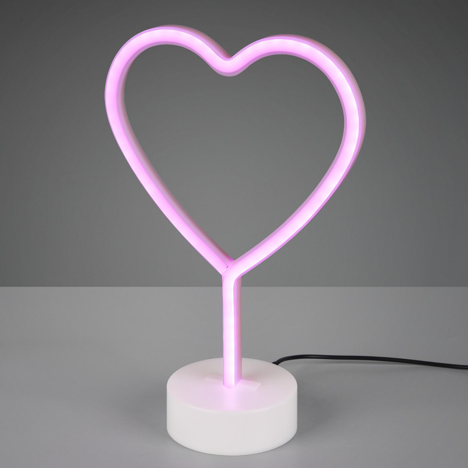 Lampada decorativa Heart