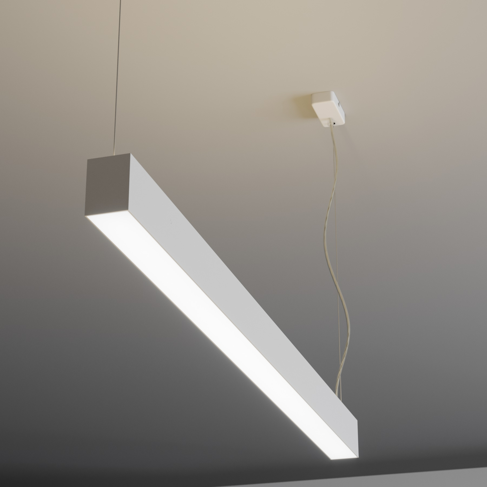 Arcchio Ando LED-Pendelleuchte, up and down