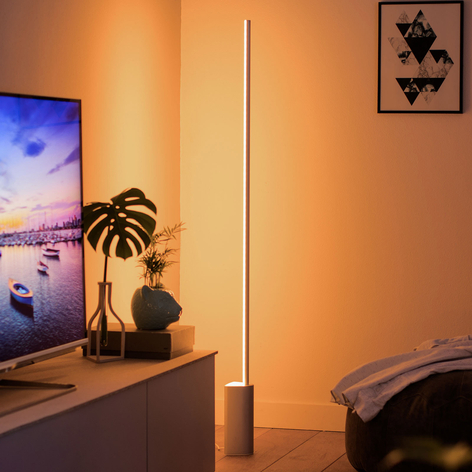 Philips Hue Signe lampadaire LED, RGBW