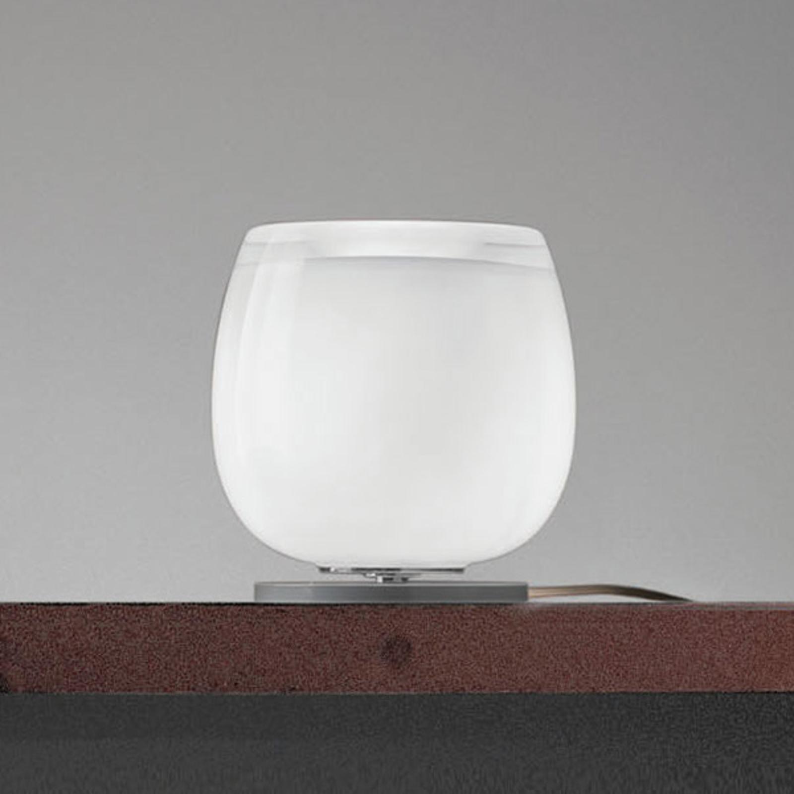 Implode - lampe à poser en verre Ø 16cm