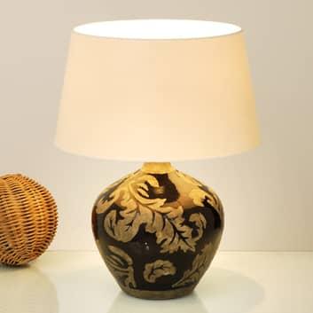 Lampa stołowa Toulouse okrągła, 42 cm, czarna