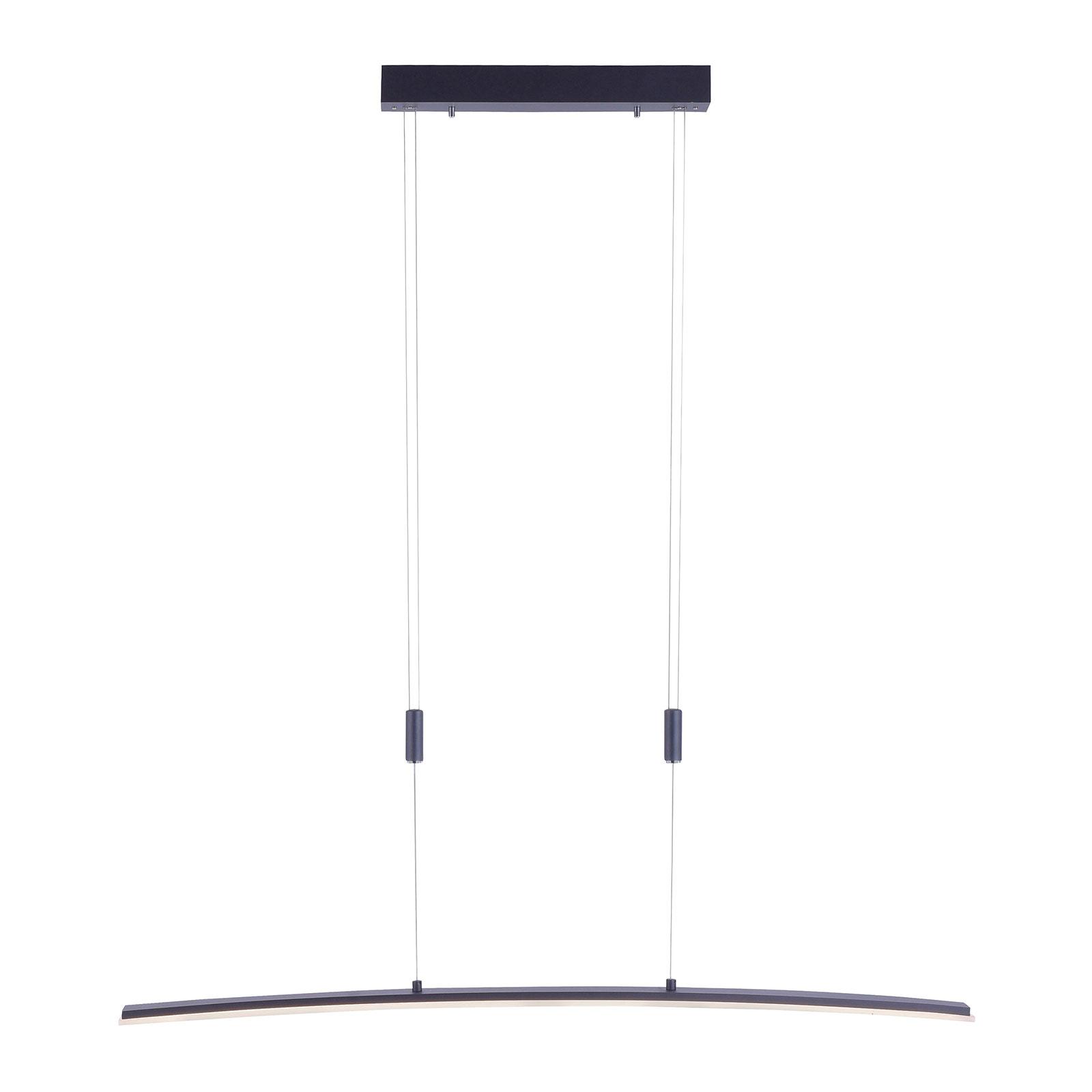 Paul Neuhaus Janina LED sospensione CCT antracite