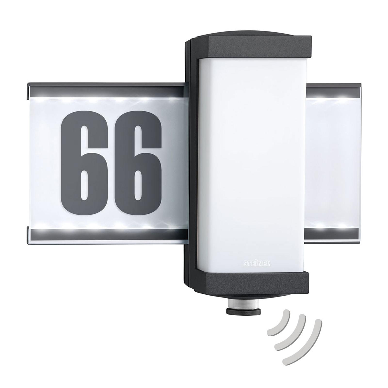 STEINEL L 665 V2 LED-Außenwandlampe Sensor NrPanel