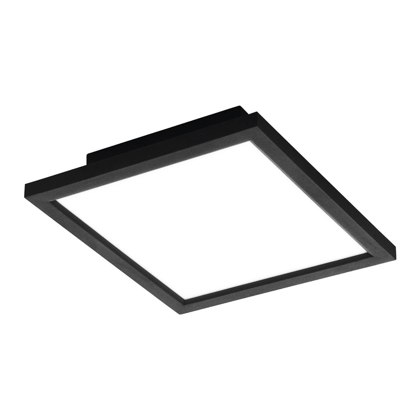 EGLO connect Salobrena-C LED-Panel schwarz 30x30cm