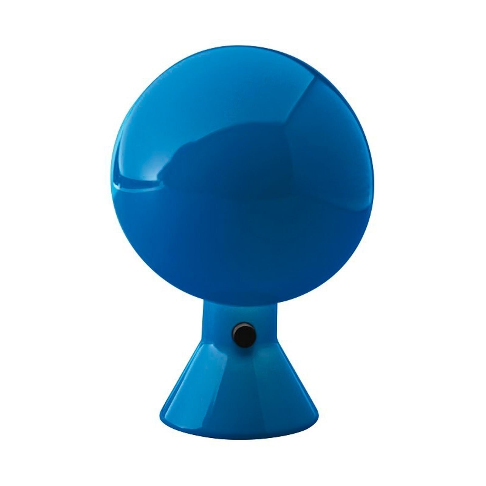 Design-tafellamp ELMETTO, blauw