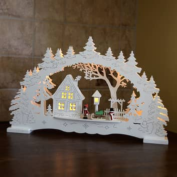 Arco de velas LED Village