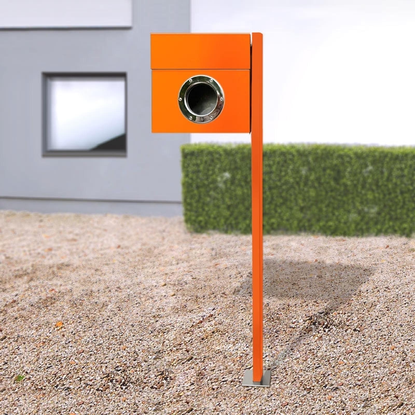 Stojanová poštovní schránka Letterman, oranžová