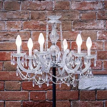 LED stojací lampa Drylight STL6, venkovní použití
