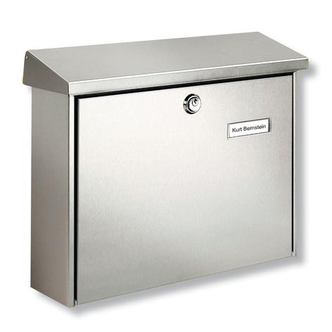 AMRUM postkasse i rustfrit stål m. beskyttelseslak