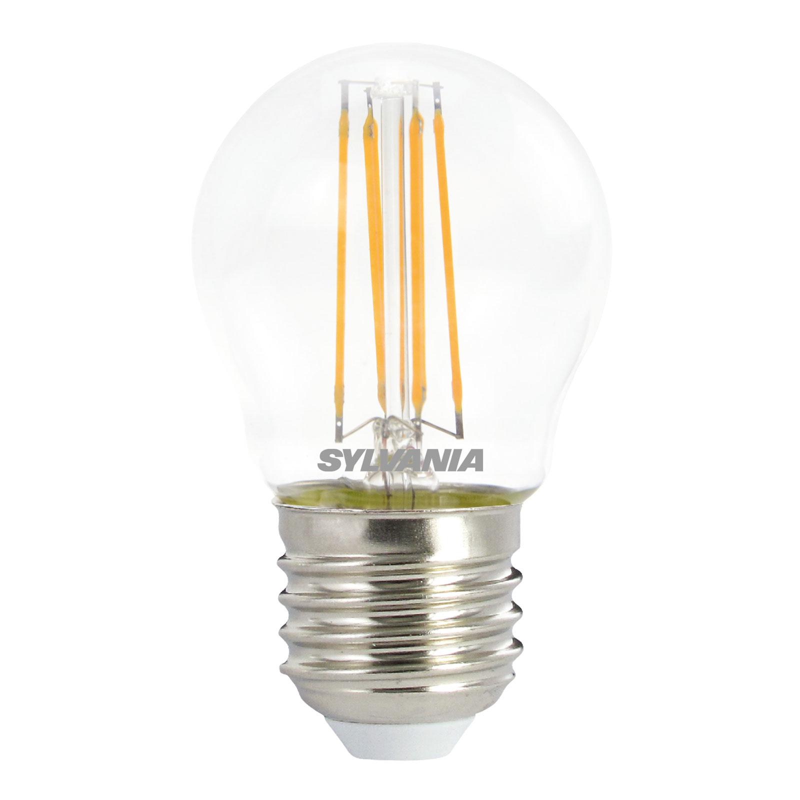 LED-pære E27 ToLEDo RT Ball 4,5 W 827 dimbar