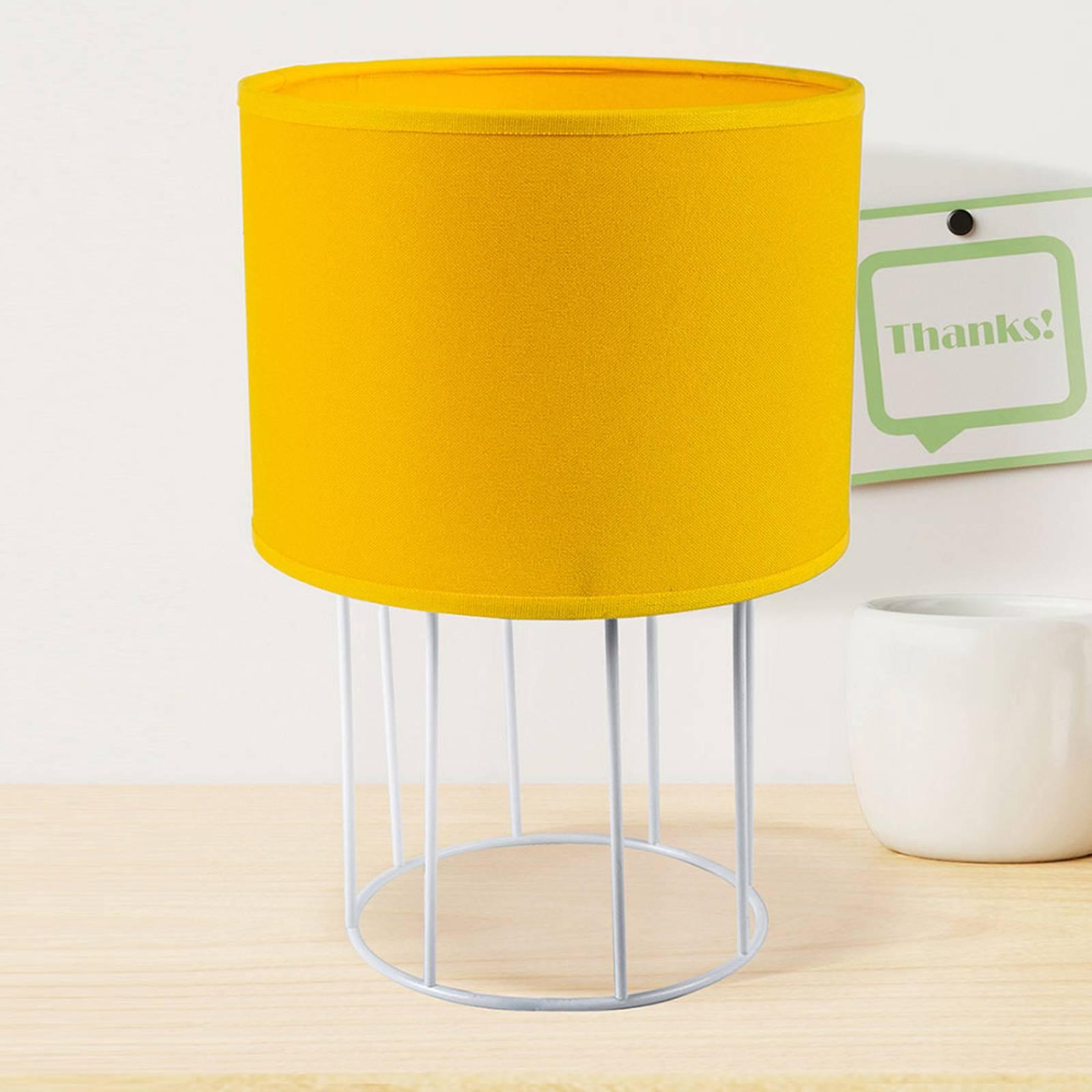 Tafellamp Carla S, geel