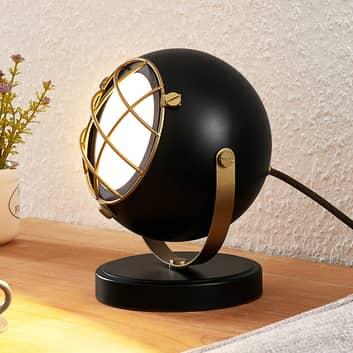 Lindby Dawid lampada LED da tavolo in oro