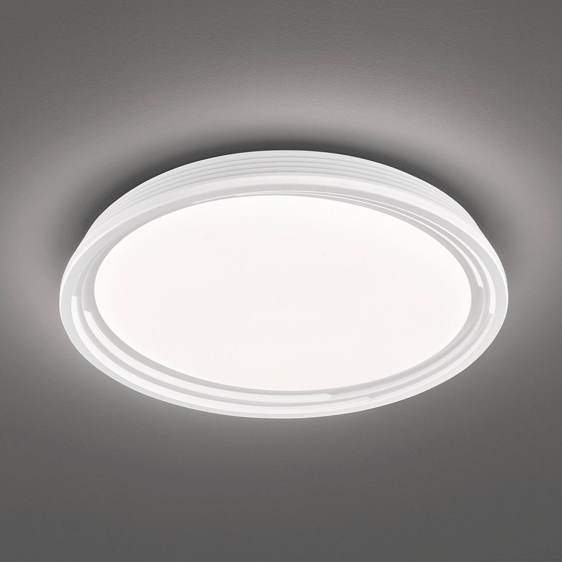 LED plafondlamp Dua, dimbaar, Ø 43 cm