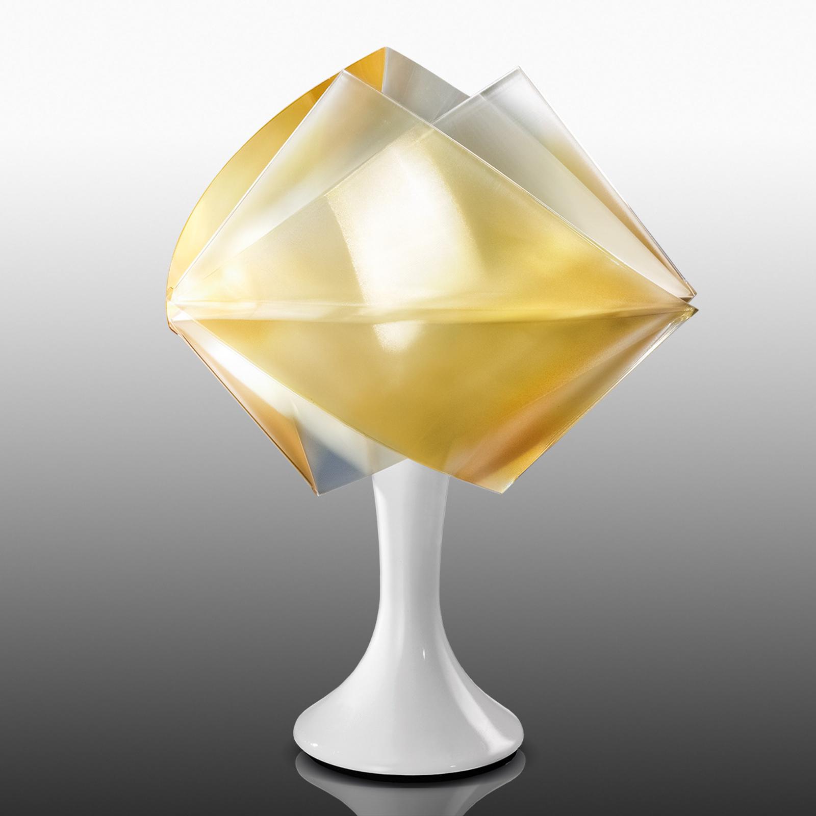 Slamp Gemmy Prisma - design-tafellamp, goud
