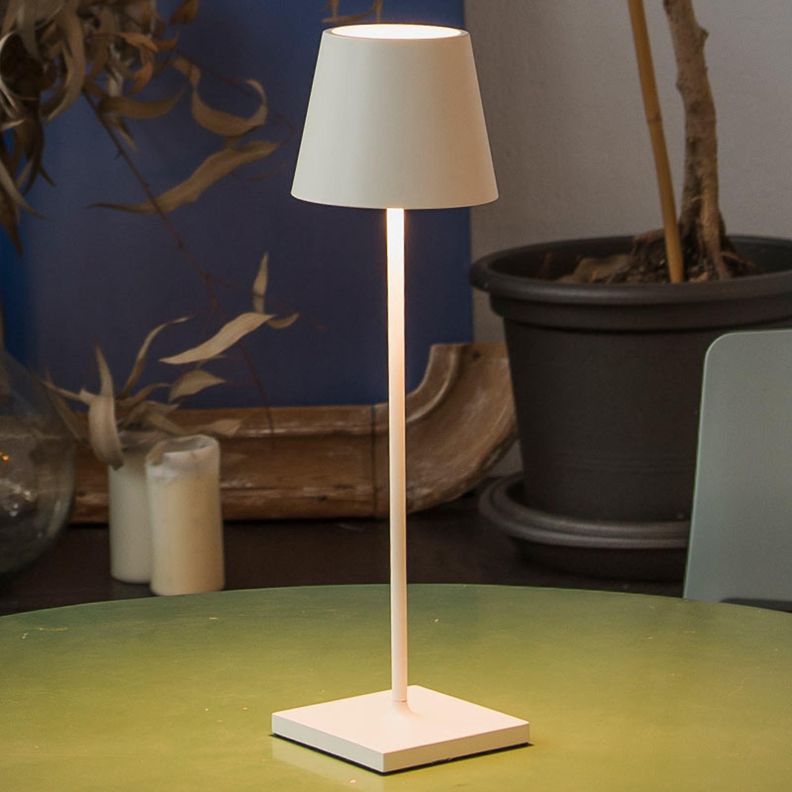Toc LED-bordlampe med USB-lader, IP54
