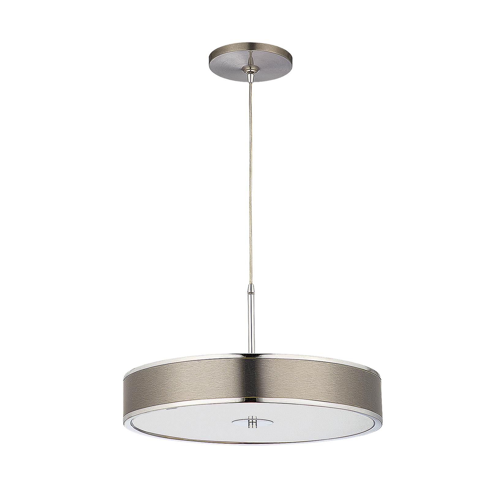 Lampa wisząca Riga, chrom Ø 48 cm
