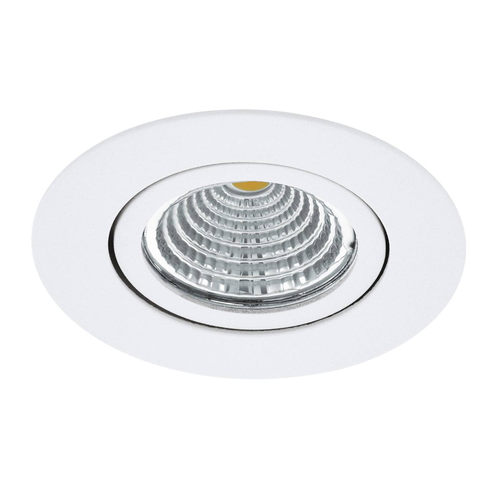 LED spot Saliceto rond draaibaar 4.000K wit