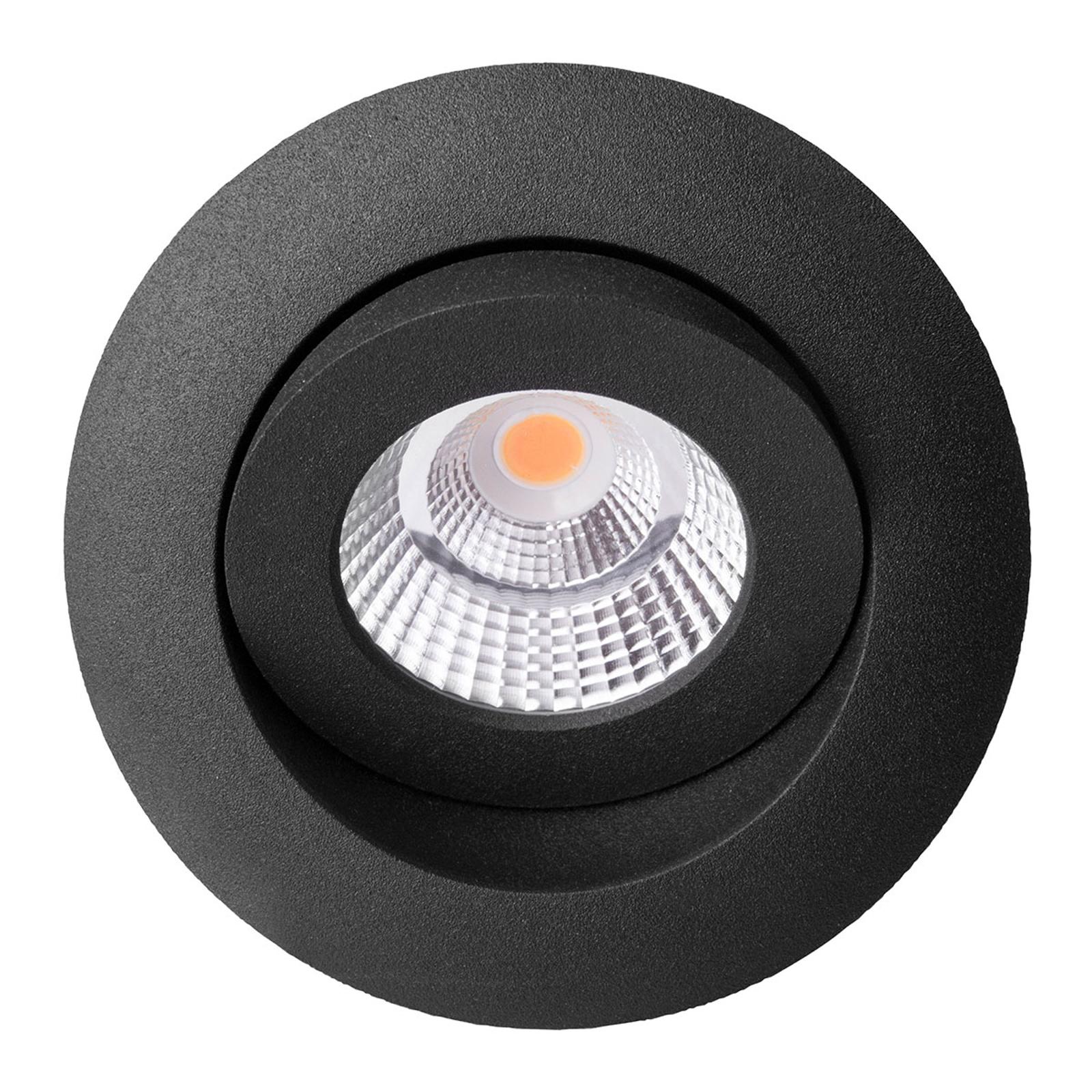 Quick Install Allround 360° faretto nero 2.700 K