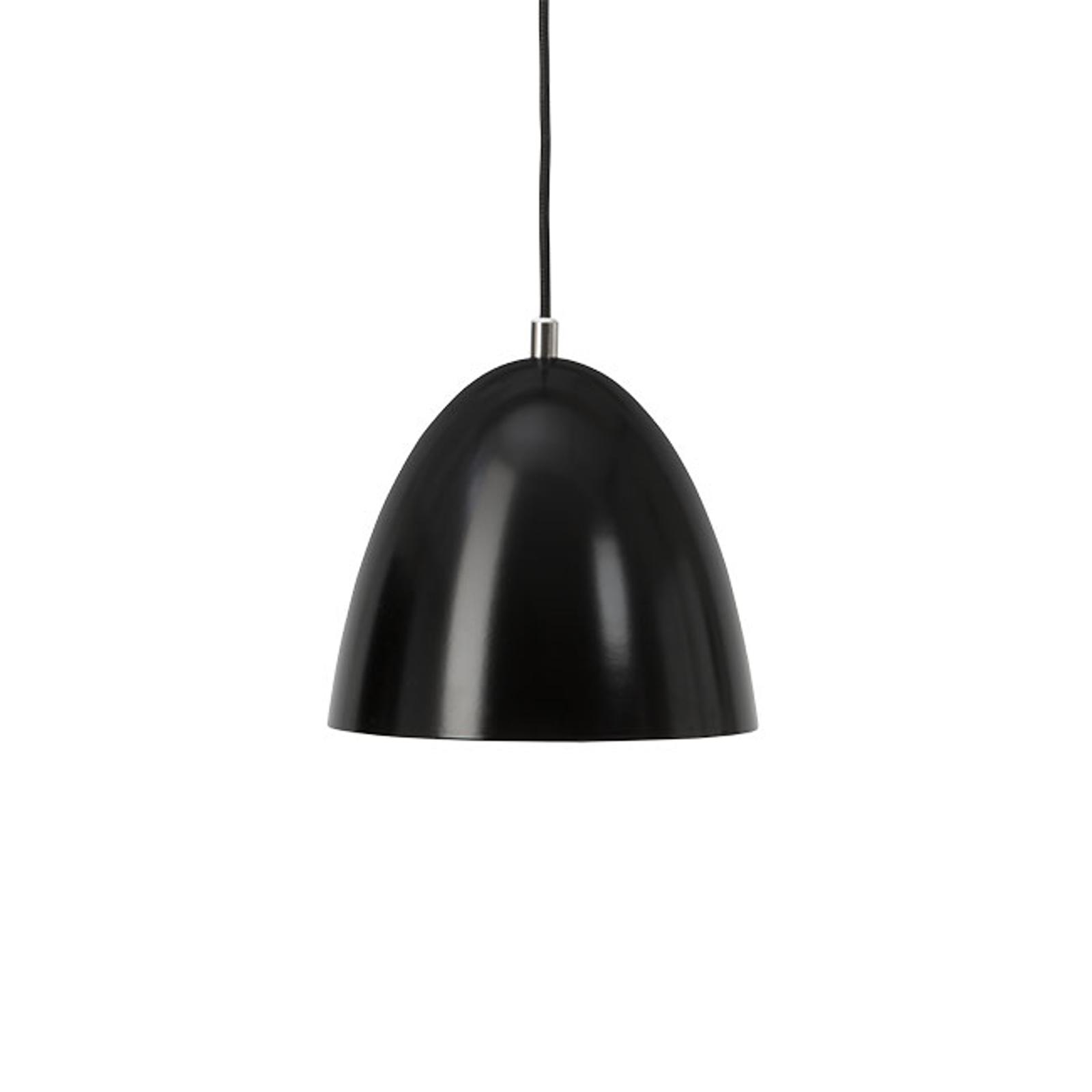 LED-Hängeleuchte Eas, Ø 24 cm, 3.000 K, schwarz