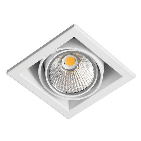 Zipar Uno Recessed LED inbouwspot