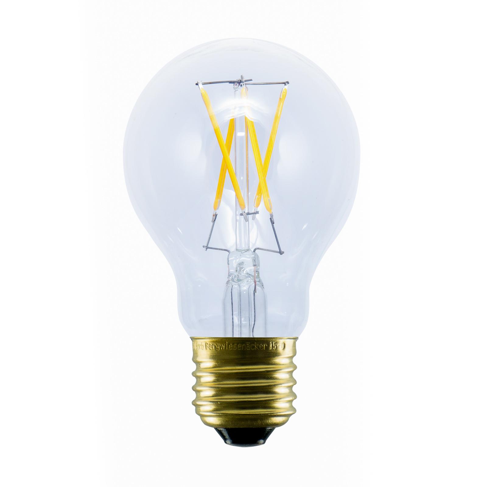 SEGULA LED-Lampe E27 2,2W 2.200K aus Kunststoff