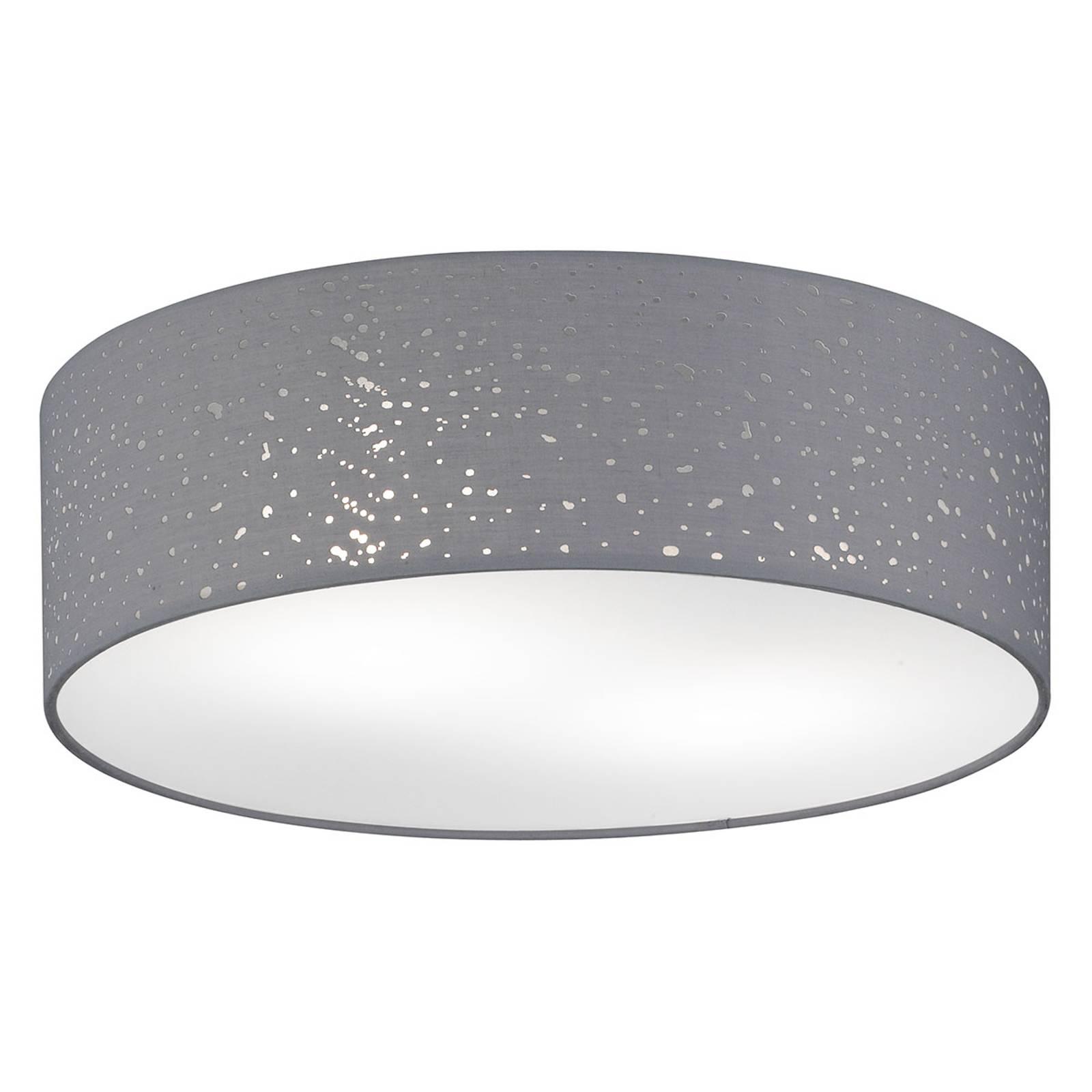Plafondlamp Thor grijs