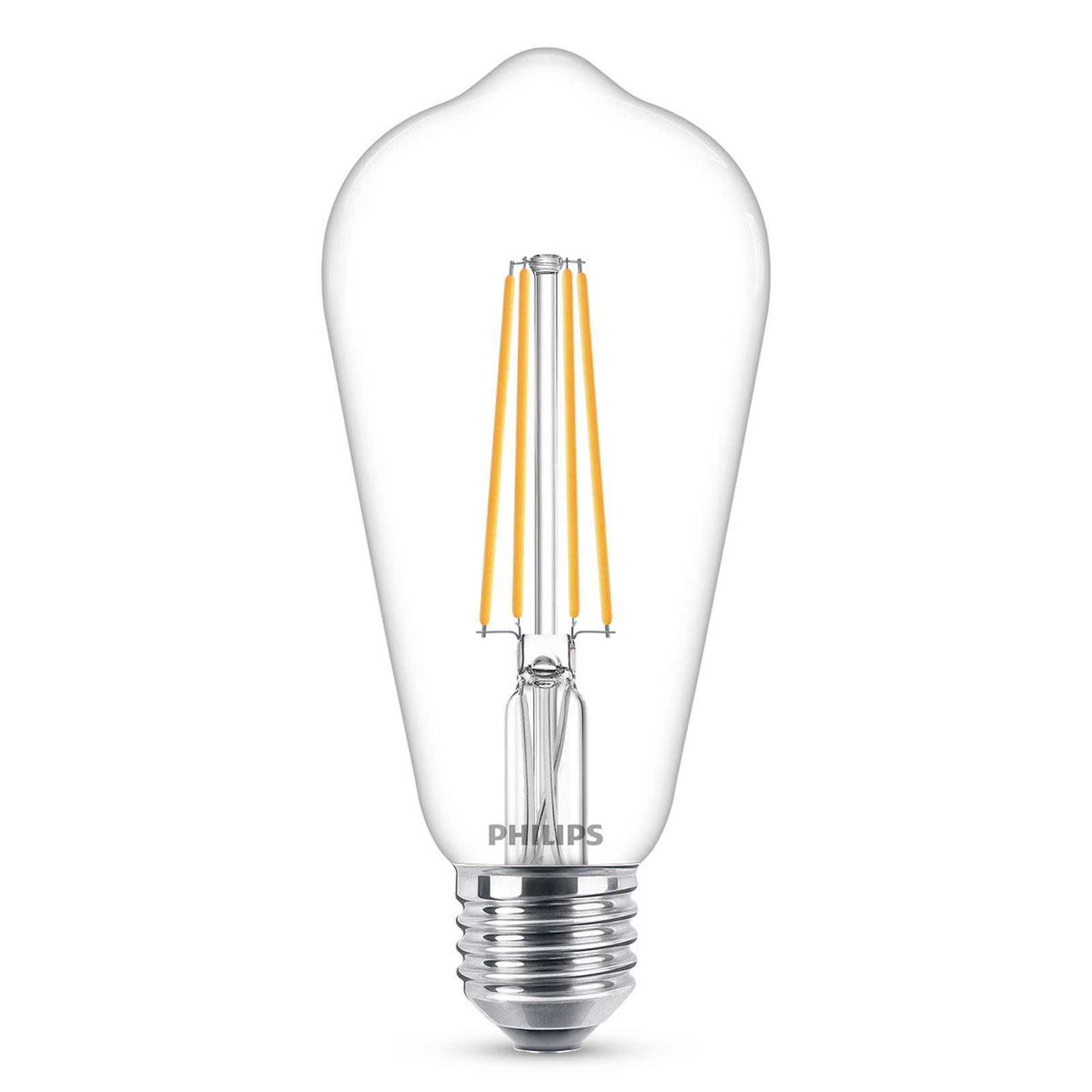 Philips E27 lampadina LED filamenti 4,3W 2.700K