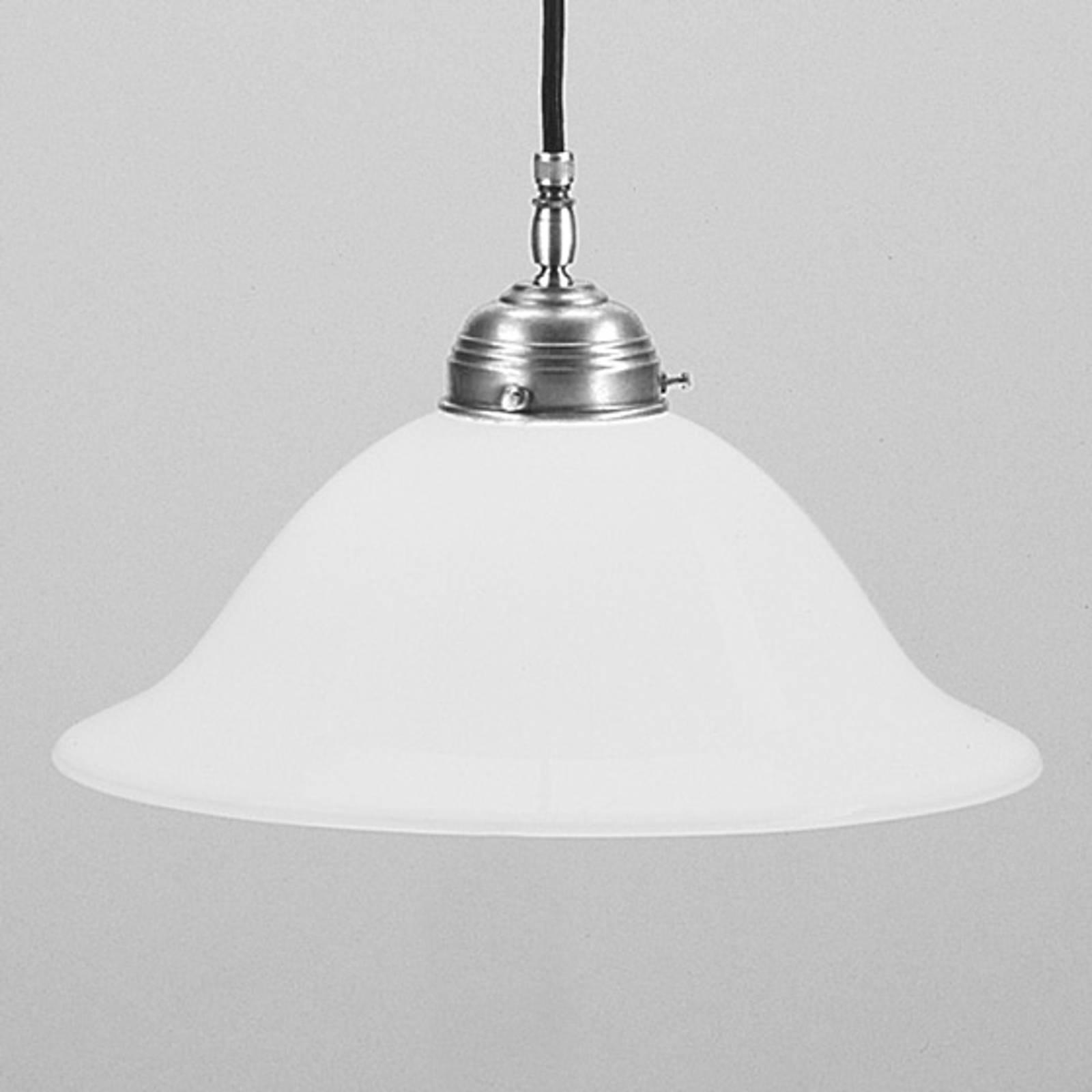 Hanglamp Anja mat nikkel