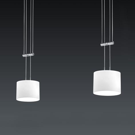 BANKAMP Grazia lampada a sospensione LED, 2 luci