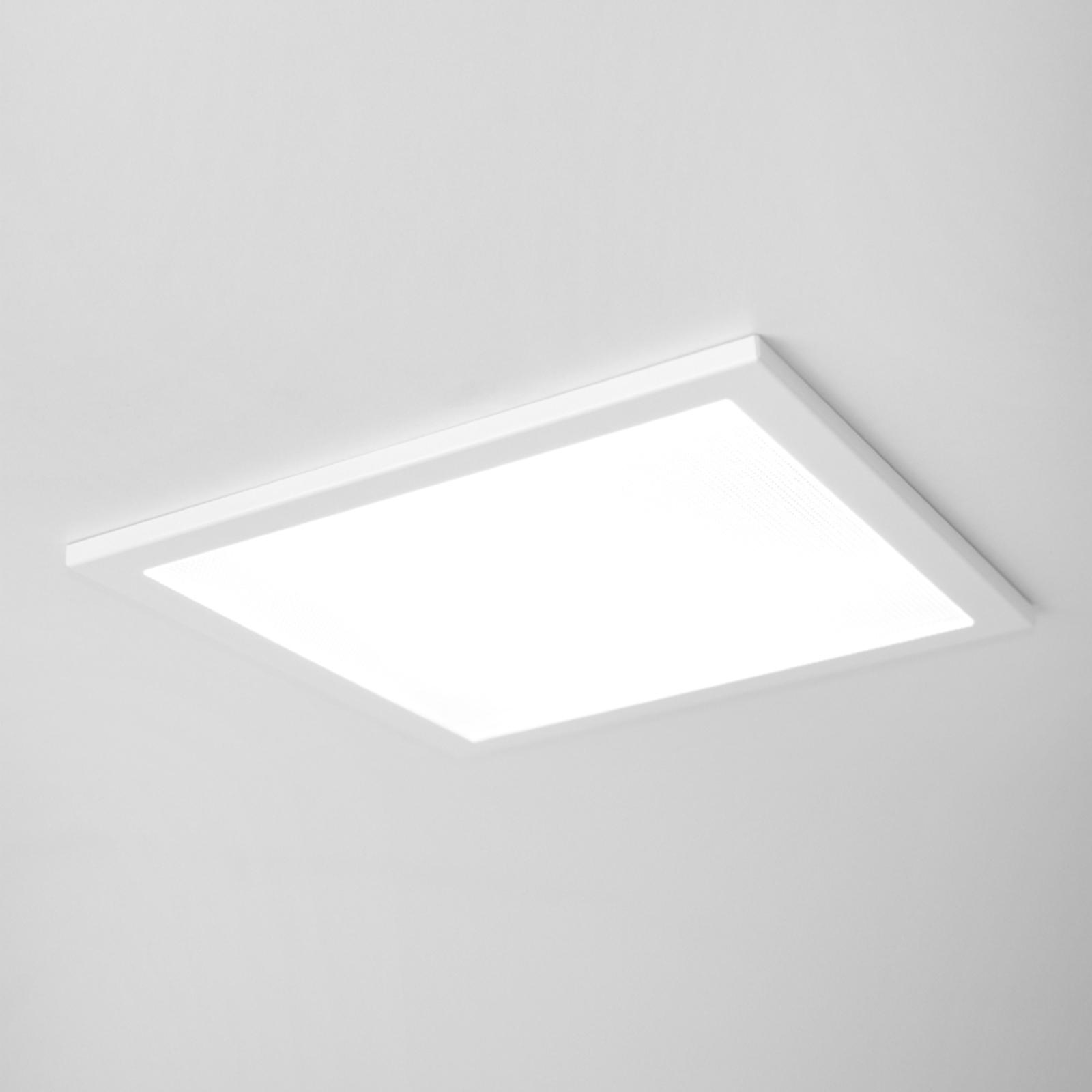SUN 9 ultraflad LED-loftindbygningslampe hvid 4K