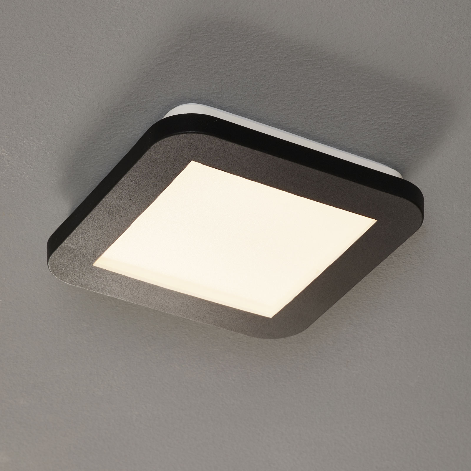 Lampa sufitowa LED Camillus, kwadratowa, 17 cm