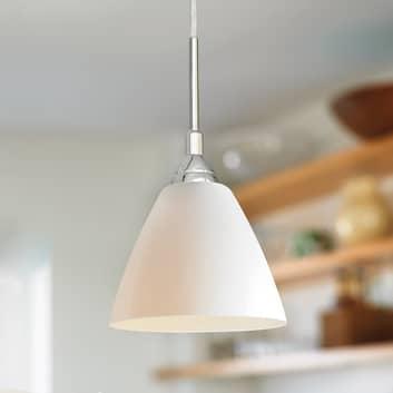 Szklana lampa wisząca READ, 14 cm