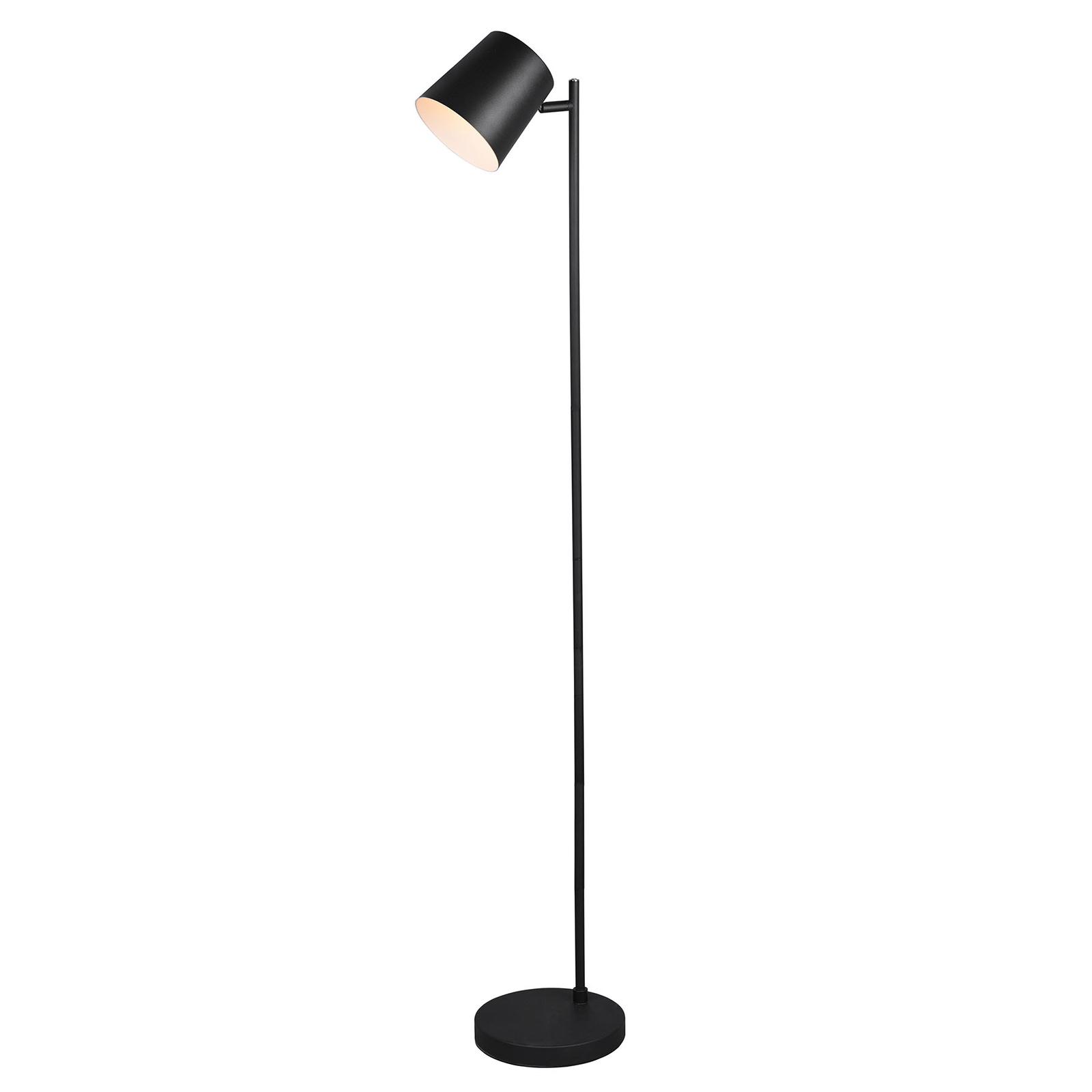 Lampadaire LED Blake avec batterie, dimmable, noir