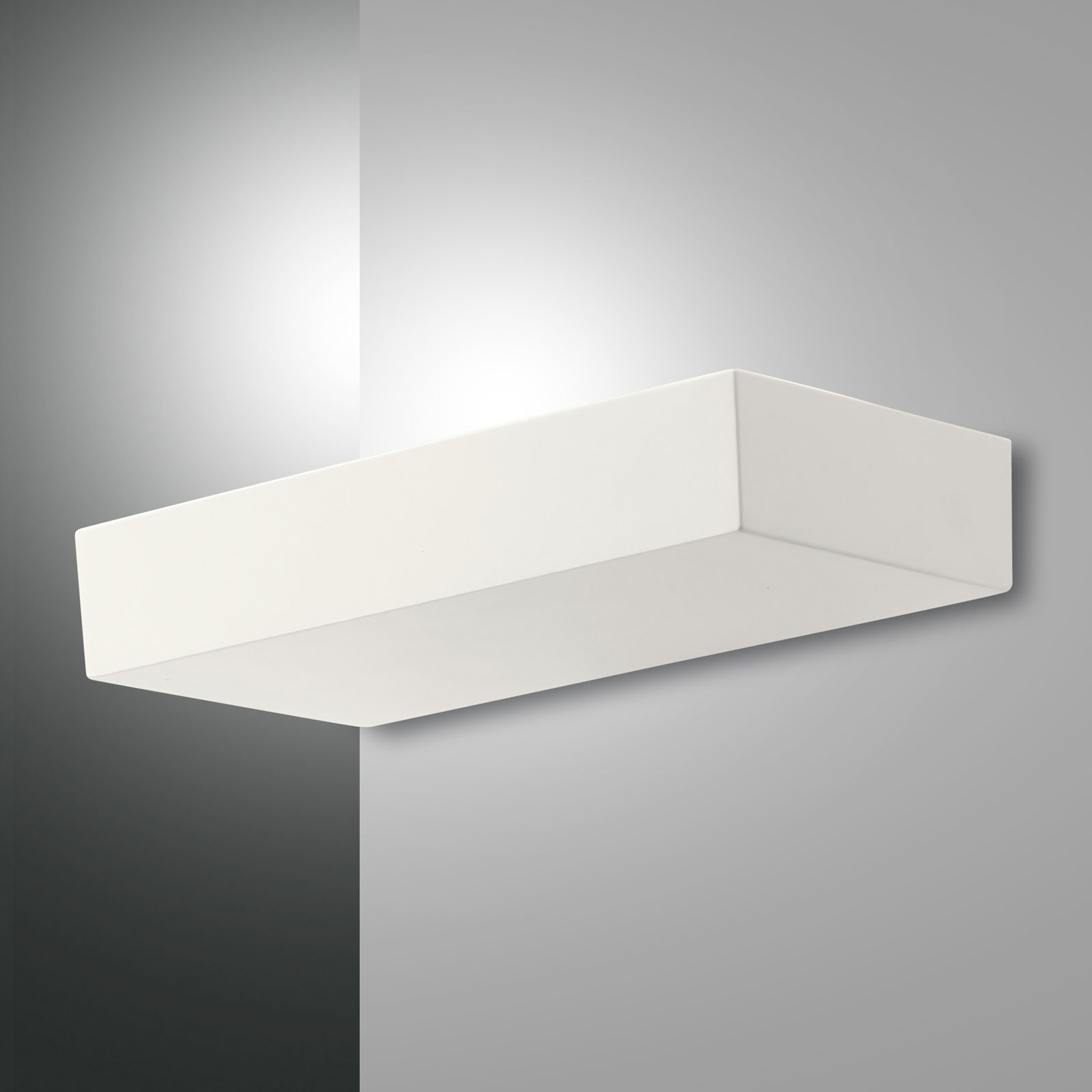 Applique LED Emma, blanc, dimmable, 27W