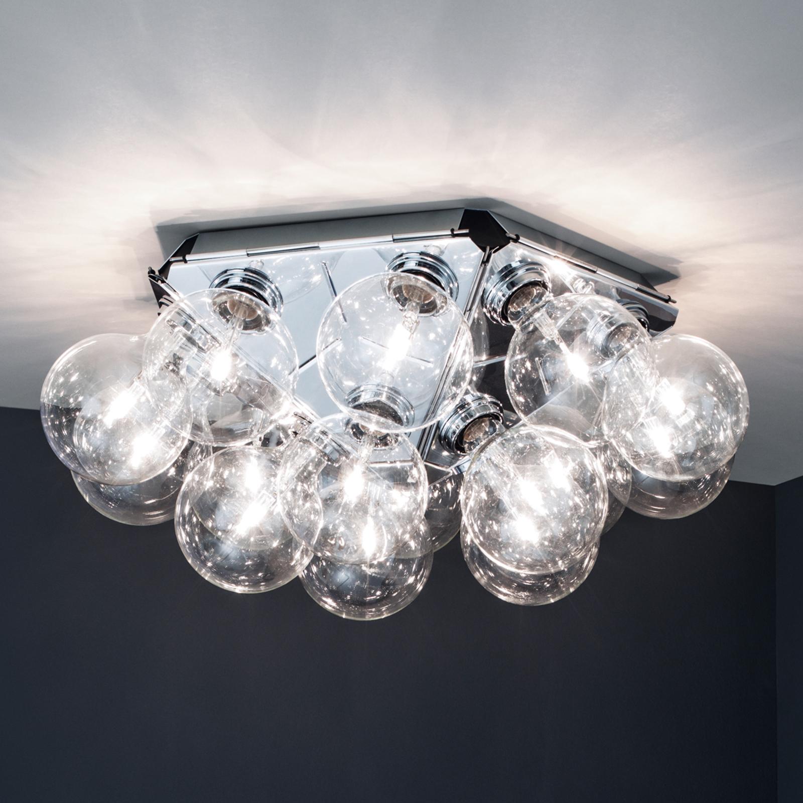 Attraktiv designertaklampe Taraxacum