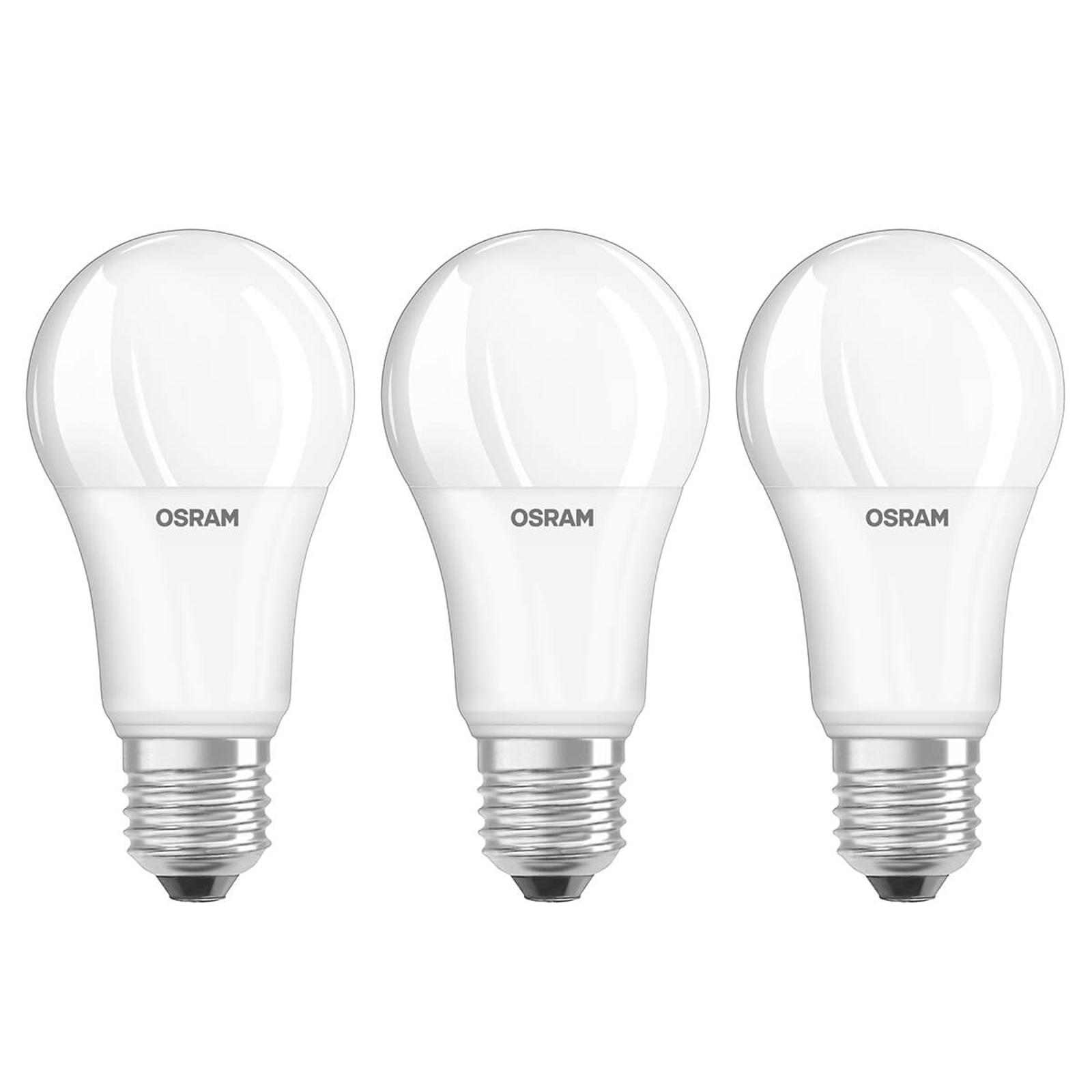 LED-Lampe E27 14W, warmweiß, 3er-Set