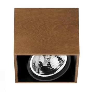 Kwadratowa lampa sufitowa Compass Box firmy FLOS