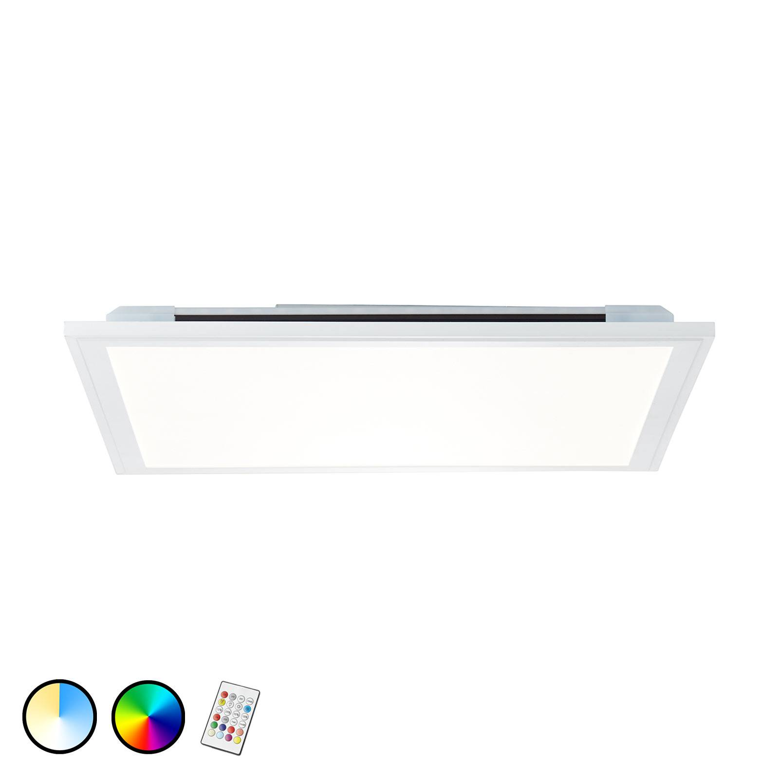 LED-Deckenleuchte Allie, 59,5x59,5 cm