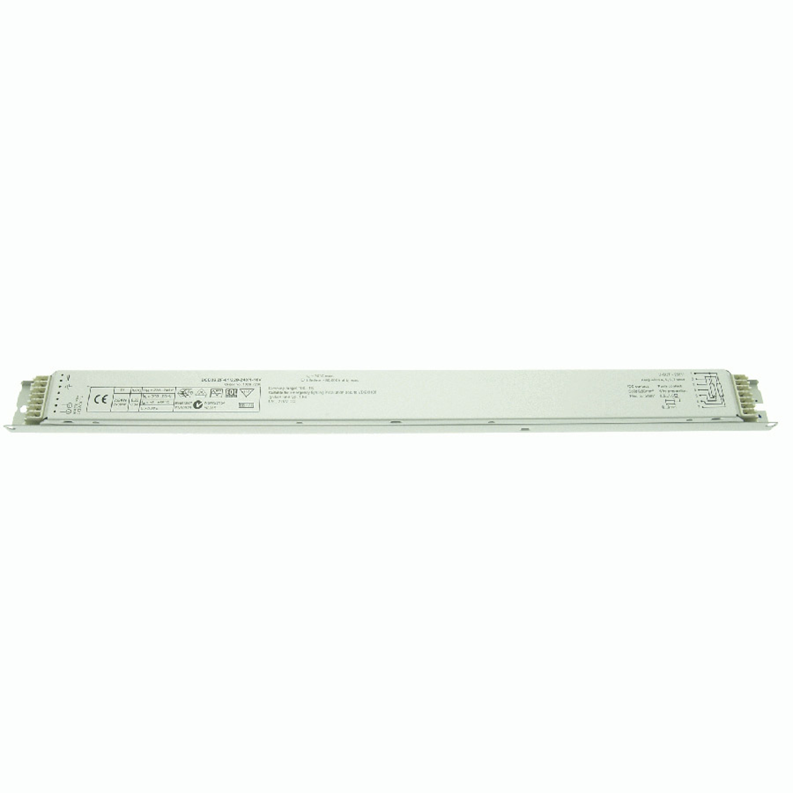 BE dimmable 2x24/39W T5 BCD39.2F-01/220-240/1-10V